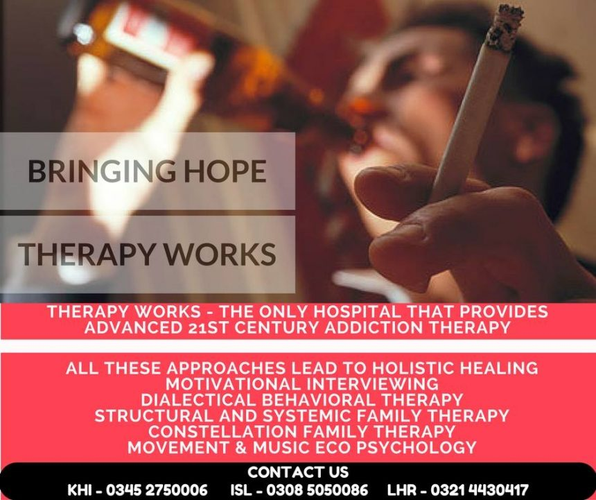 Advanced 21st Century Addiction Treatment Karachi, Lahore & Islamabad