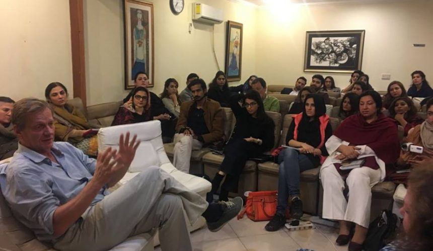 Advanced UK Diploma Level 5 Training with Micheal Soth in Lahore