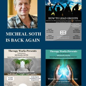 Workshops by Michael Soth (Senior psychotherapist/Trainer from Oxford UK
