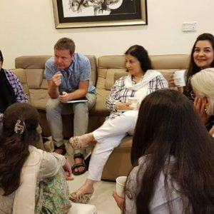 Level 5 Diploma class in LAHORE by Micheal Soth & Ben Midworth
