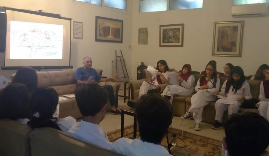 Workshop in Islamabad on Anxiety and stress management