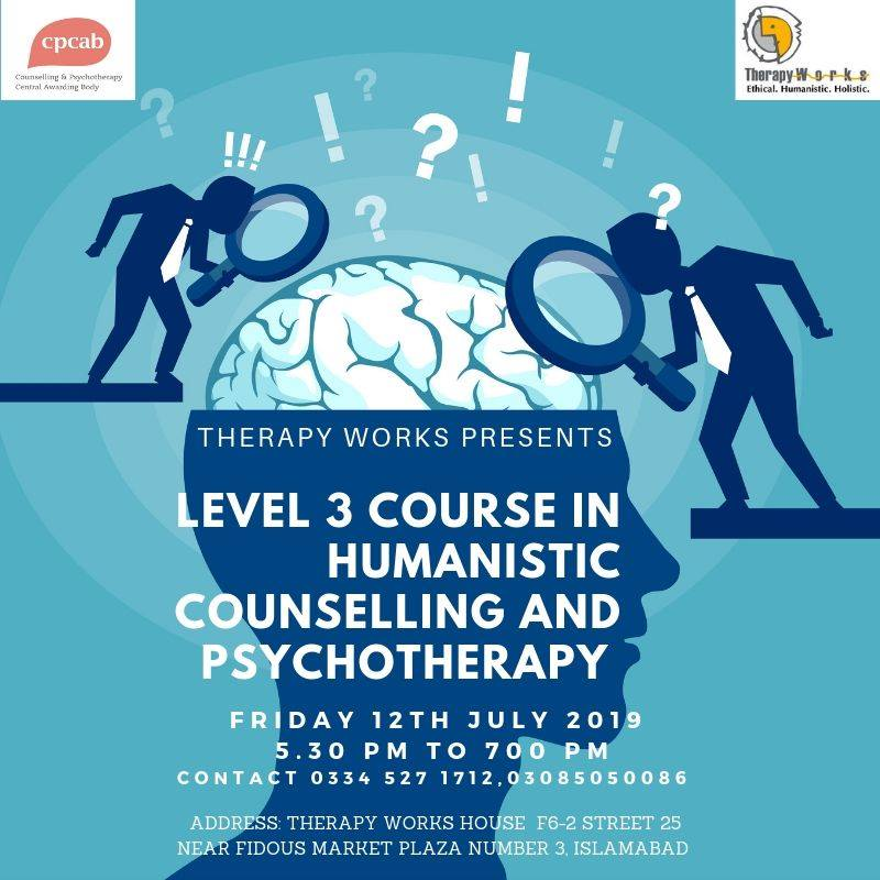 UK Level 3 Course in Humanistic Counselling & Psychotherapy