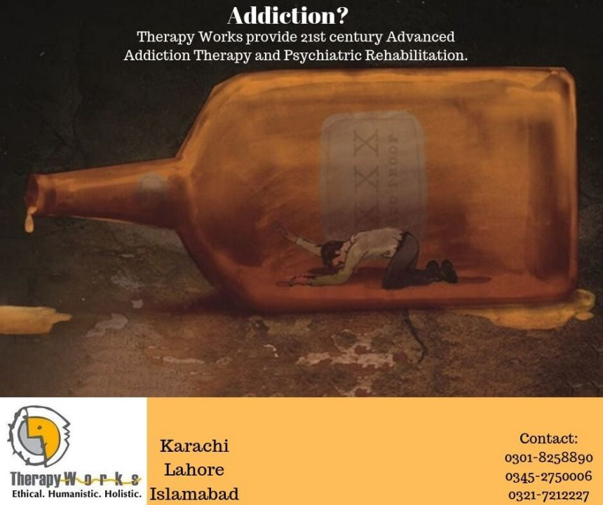 21st Century Advanced Addiction Therapy in Karachi, Lahore, Islamabad
