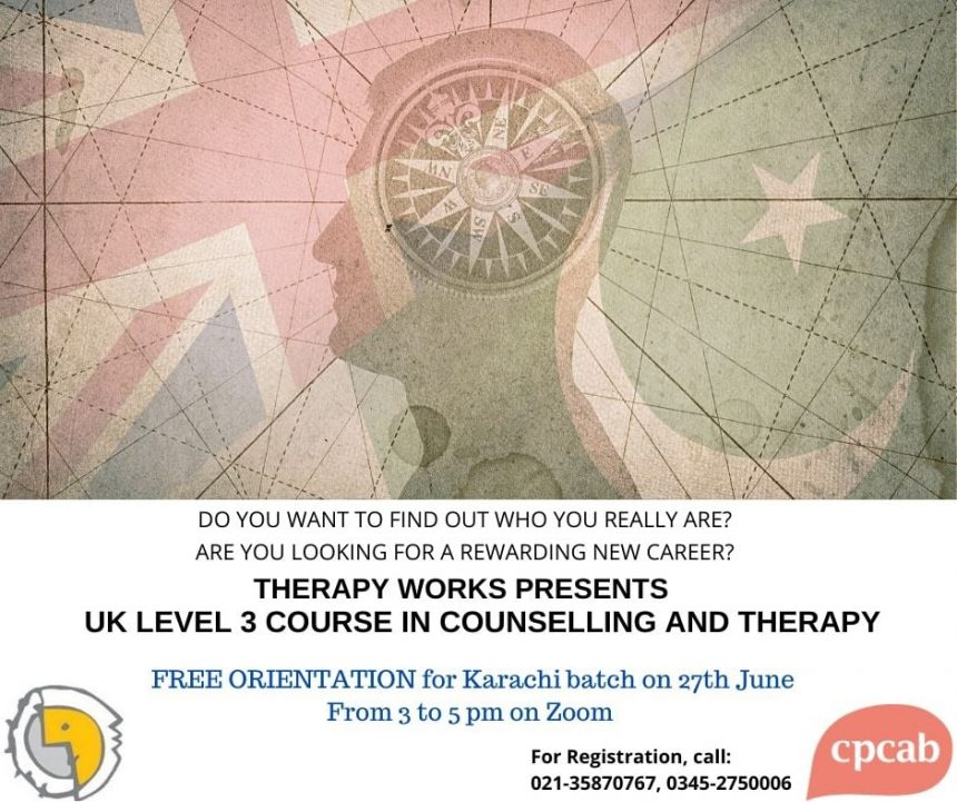 UK Level 3 and Level 4 Courses in Counselling on Zoom