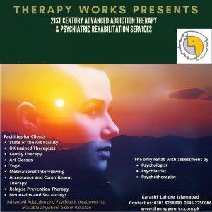 21st Century Advanced Addiction Therapy Karachi, Lahore, Islamabad