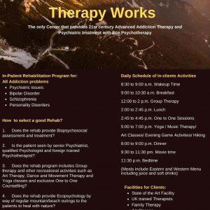 In-Patient Rehabilitation Program Karachi, Lahore & Islamabad