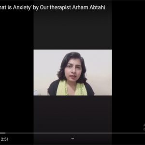 Let's understand 'What is Anxiety' by Our therapist Arham Abtahi