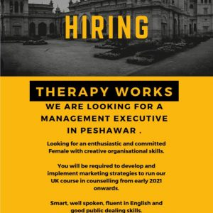 Management Executive Job in Peshawar