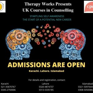 Therapy Works Presents UK Courses in Counselling – Admissions Open