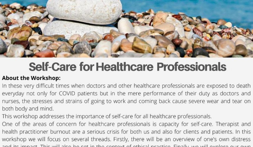 Covid-19 Self-Care for Healthcare Professionals – Workshop by Dr. Jan Mojsa