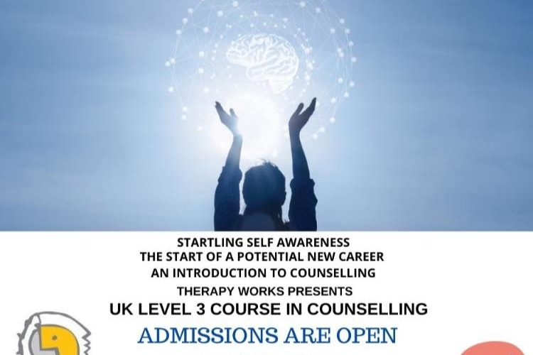 Therapy Works presents UK Level 3 Course in Counselling – Admissions open in Islamabad