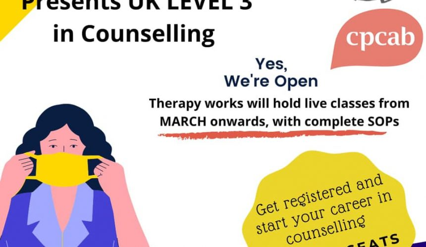 Therapy Works Will Hold Live Classes from March Onwards with SOPs