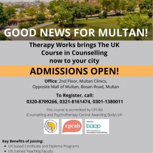 UK Course in Counselling in Multan