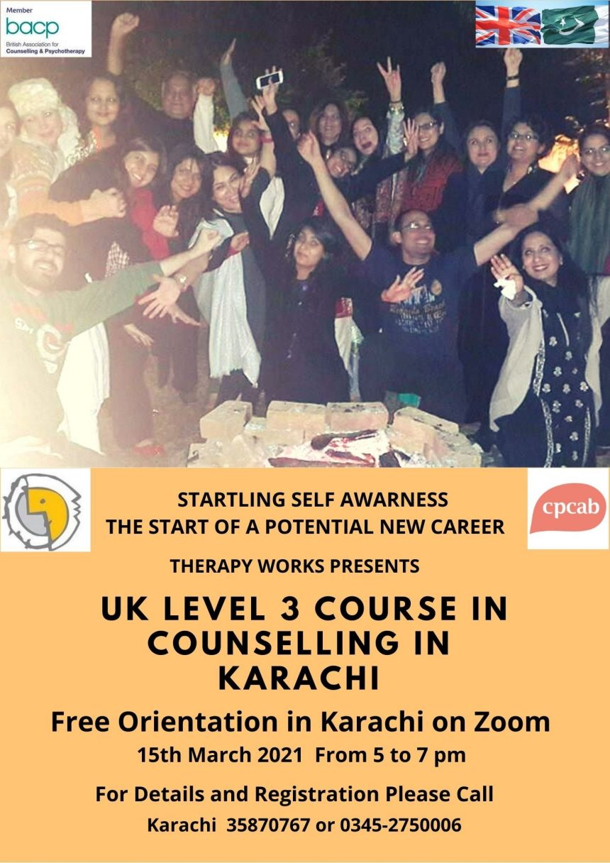 UK Level 3 Course in Counselling