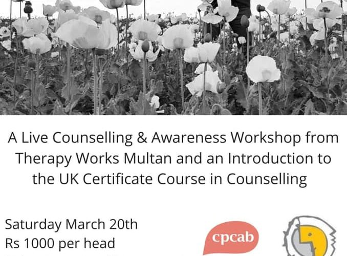 Hello Multan! Therapy Works now introducing our CPCAB UK Level 3 in Multan