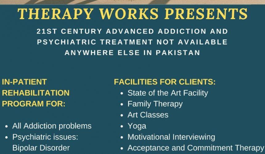 21st Century Advanced Addiction & Psychiatric Rehab in Pakistan