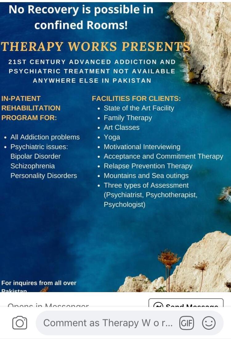 21st Century Advanced Addiction & Psychiatric Treatment in Pakistan