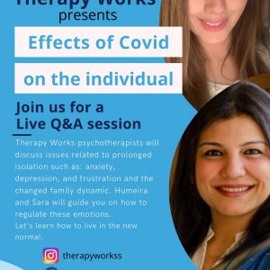 Therapy Works Presents Effects of Covid on the Individual